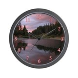 Scenic River Wall Clock
