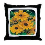 Rudbeckia - Black Eye Susan Throw Pillow