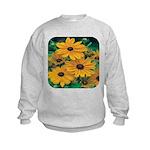 Rudbeckia - Black Eye Susan Kids Sweatshirt