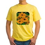 Rudbeckia - Black Eye Susan Yellow T-Shirt