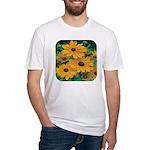 Rudbeckia - Black Eye Susan Fitted T-Shirt