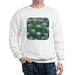 Scabiosa Blue Sweatshirt