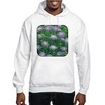Scabiosa Blue Hooded Sweatshirt