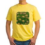 Scabiosa Blue Yellow T-Shirt