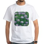 Scabiosa Blue White T-Shirt