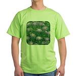Scabiosa Blue Green T-Shirt