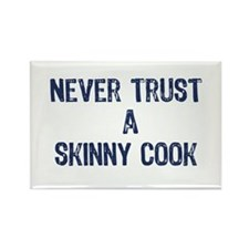 """""""A Skinny Cook"""" - Rectangle Magnet"""