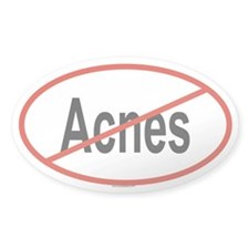 ACNES Oval Decal