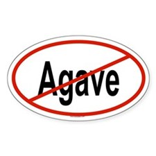 AGAVE Oval Decal