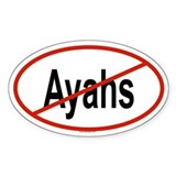 AYAHS Oval Decal