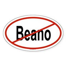 BEANO Oval Decal