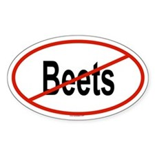BEETS Oval Decal