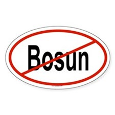 BOSUN Oval Decal