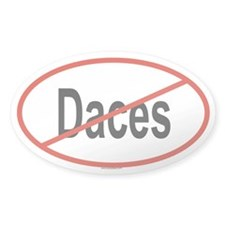 DACES Oval Decal