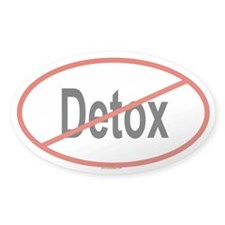 DETOX Oval Decal