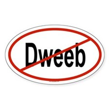 DWEEB Oval Decal