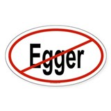 EGGER Oval Decal