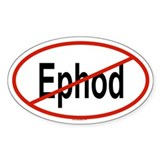 EPHOD Oval Decal