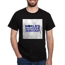 World's Biggest Democrat T-Shirt