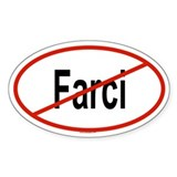 FARCI Oval Decal