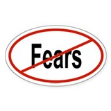FEARS Oval Decal