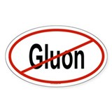 GLUON Oval Decal