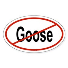 GOOSE Oval Decal