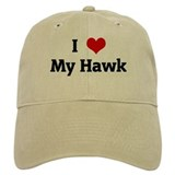 I Love My Hawk Baseball Cap
