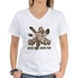 More Mud More Fun on an ATV Shirt
