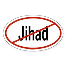 JIHAD Oval Decal