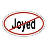 JOYED Oval Decal