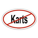 KARTS Oval Decal