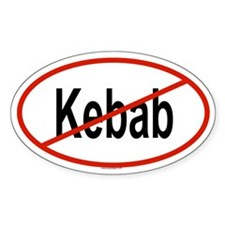 KEBAB Oval Decal