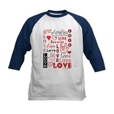 Love Words and Hearts Tee