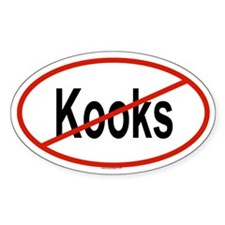 KOOKS Oval Decal