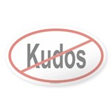 KUDOS Oval Decal