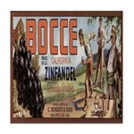 Bocce Tile Coaster