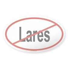 LARES Oval Decal