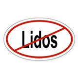 LIDOS Oval Decal