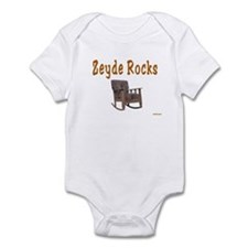 FUNNY YIDDISH ZEYDE ROCKS Infant Bodysuit