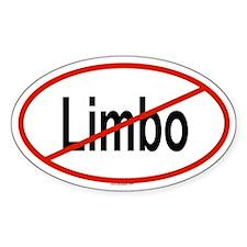 LIMBO Oval Decal