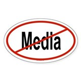 MEDIA Oval Decal