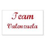 TEAM Valenzuela REUNION Rectangle Decal