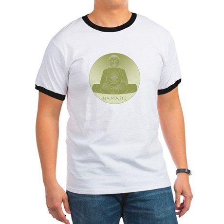 Yoga Buddha 1 Ringer T