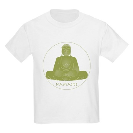 Yoga Buddha 2 Kids Light T-Shirt