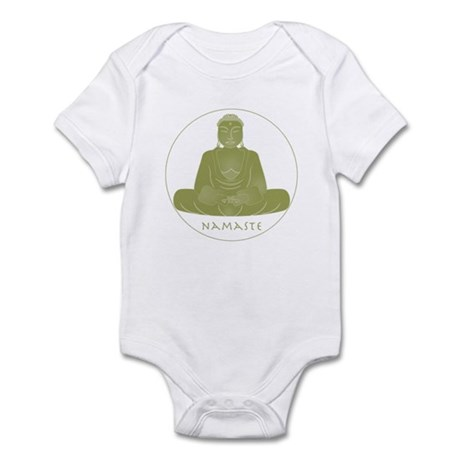 Yoga Buddha 2 Infant Bodysuit