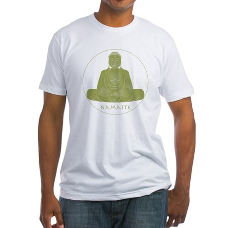 Yoga Buddha 2 Fitted T-Shirt