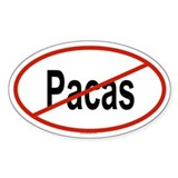 PACAS Oval Decal