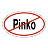 PINKO Oval Decal