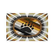 BEAR PAW PRIDE DESIGN/ Rectangle Magnet
